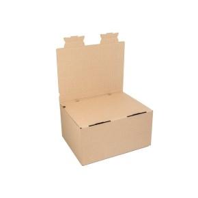 Zásielková krabica EKOBOX 3VVL 389x290x190 mm, hnedá