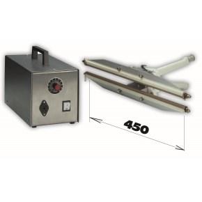Zváračka HPL ISZ 450 + zdroj-šírka čeľuste 450mm