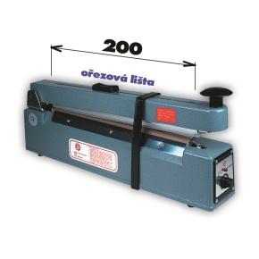 Zváračka KF 200 HC s orezom-šírka čeľuste 200mm