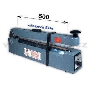 Zváračka KF 500 HC s orezom - šírka čeľuste 500mm